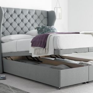 Double Divan Ottoman Storage Bed