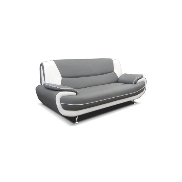 Carol Faux Leather Sofa Set