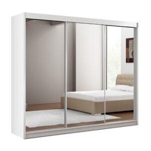 Paris Lux Mirror Sliding Door Wardrobe