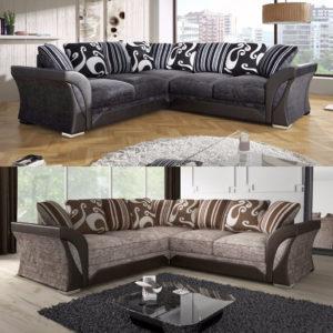 Shannon Fabric Corner Sofa
