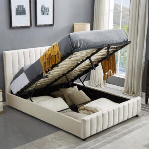 Lucy Lift Storage Upholstered Bed Frame