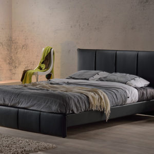 Premium Faux Leather Bed Frame