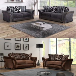 Shannon 2 and 3 Seater Sofa Set
