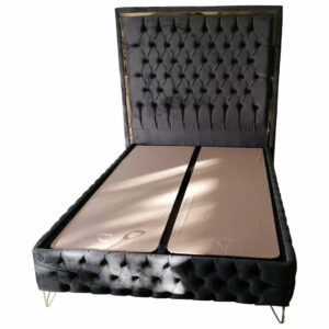 Nova Turkish Velvet Ottoman Bed